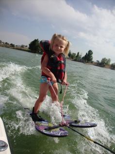 water ski kid